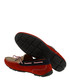 Red & sand brown suede driving shoes Sale - Baqietto Sale
