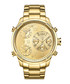 G4 18k gold-plated steel subdial watch Sale - jbw Sale