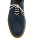 Navy blue suede contrast brogues Sale - Baqietto Sale