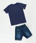 2pc Boy's Holiday cotton blend set Sale - denokids Sale