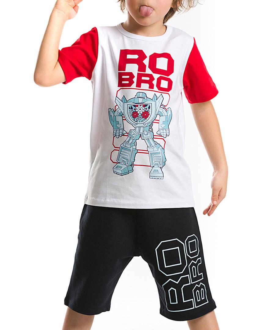 2pc Boy's Ro-Bro cotton blend set Sale - Denokids