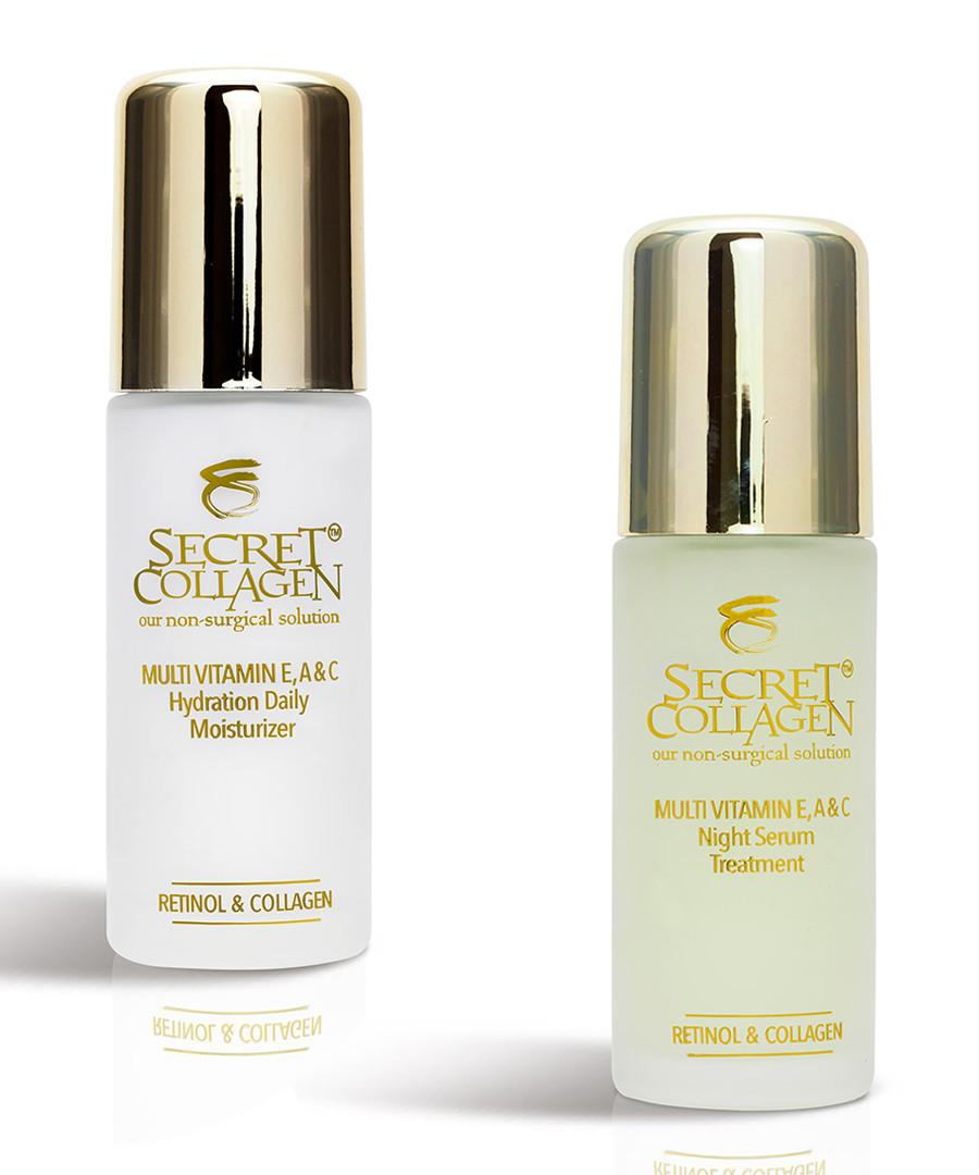 2pc Deep Hydrating multi-vitamin set Sale - predire and secret collagen