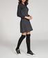 Black & graphite cotton blend dress Sale - numinou Sale