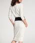 Beige & black cotton blend dress Sale - numinou Sale