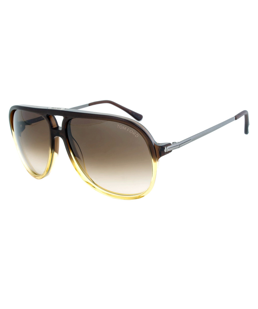 05a39f8a9a6 Damian brown top bar sunglasses Sale - TOM FORD