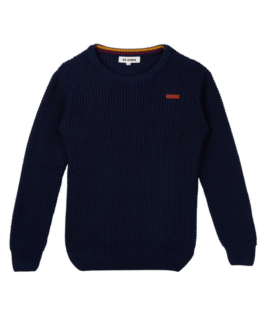 Navy blue jumper Sale - BEN SHERMAN