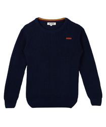 Navy blue jumper