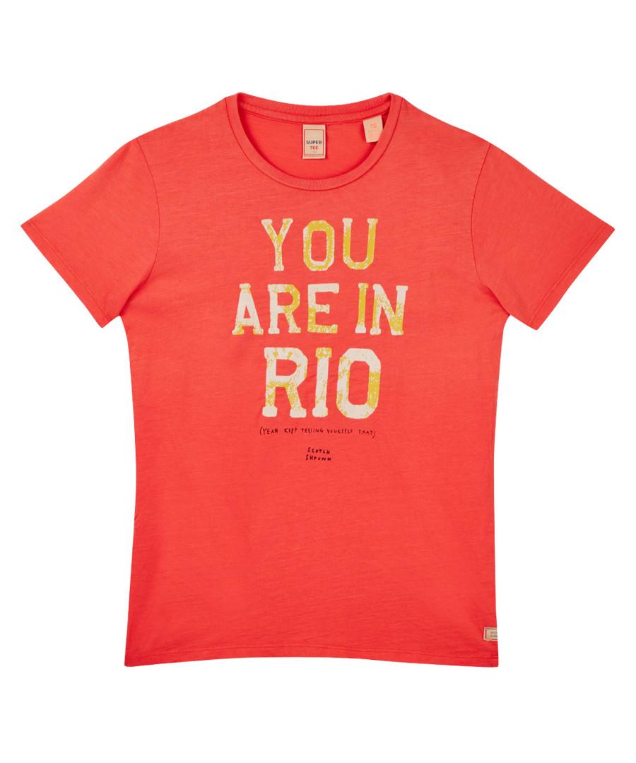Rio Cotton T-shirt Sale - Scotch Shrunk