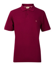 Winston mulberry cotton blend pique polo