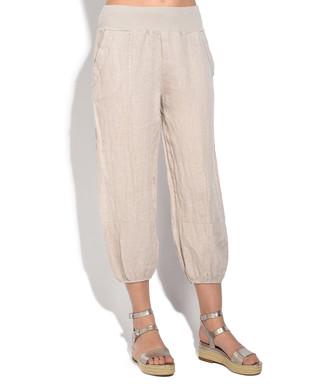 82445290bc Sand pure linen trousers Sale - William de Faye Sale