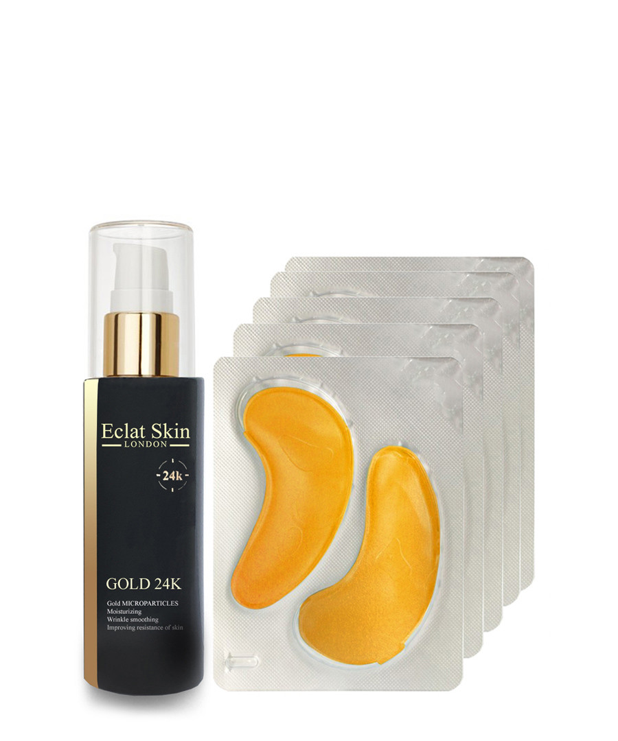 2pc 24K Gold Anti-Wrinkle set Sale - eclat