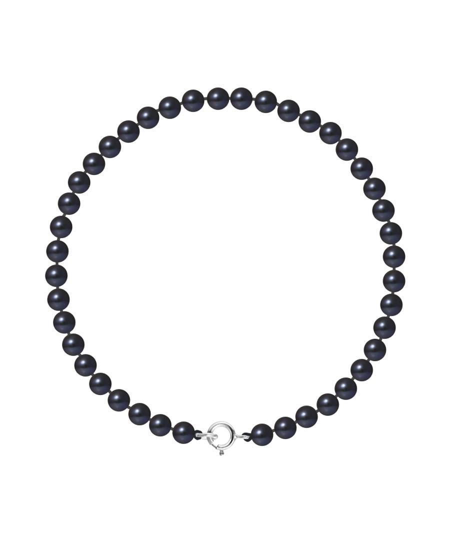 0.4cm black Tahiti pearl bracelet  Sale - Royale Des Perles