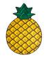 Pineapple beach blanket Sale - big mouth inc Sale