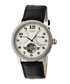 Piccard black leather watch Sale - heritor automatic Sale