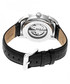 Marcus black leather & steel watch  Sale - heritor automatic Sale