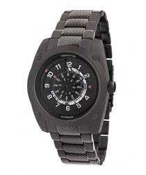 Daniels black stainless steel watch