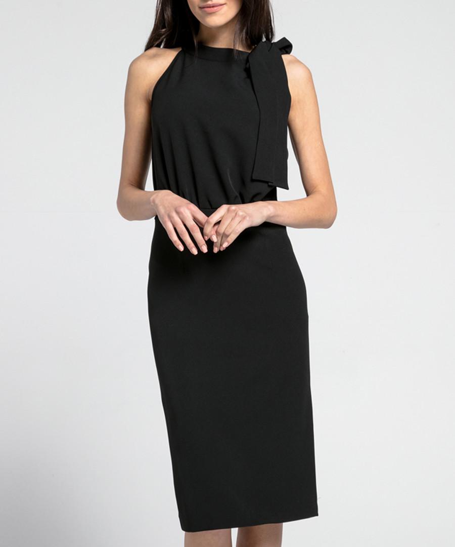 Black bow neck dress Sale - 1st somnium