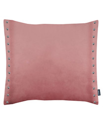 Brompton blush button cushion 43cm
