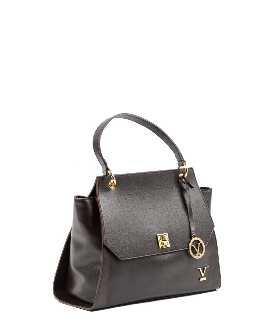 14a029a17d65 ... Dark Brown leather flap grab bag Sale - VERSACE 1969 ABBIGLIAMENTO  SPORTIVO SRL MILANO ITALIA Sale ...