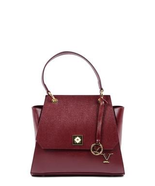 6b4f5792d70c Bordeaux leather flap grab bag Sale - V ITALIA BY VERSACE 1969  ABBIGLIAMENTO SPORTIVO SRL MILANO