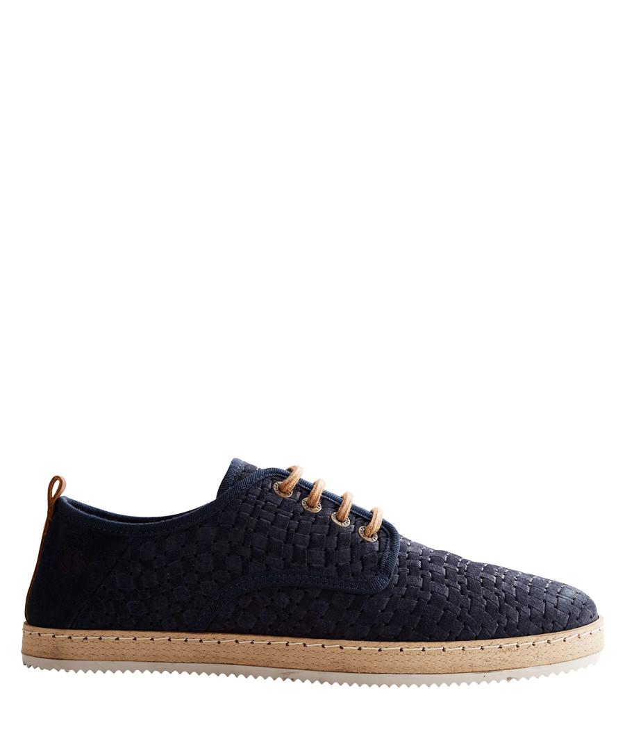 Men's R.Adam blue leather sneakers Sale - NoGRZ