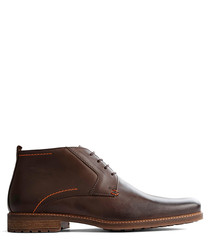 Men's D.Libeskind brown leather boots