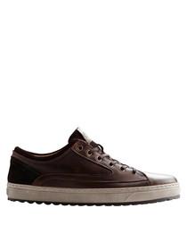 Men's P.Harrison brown leather sneakers