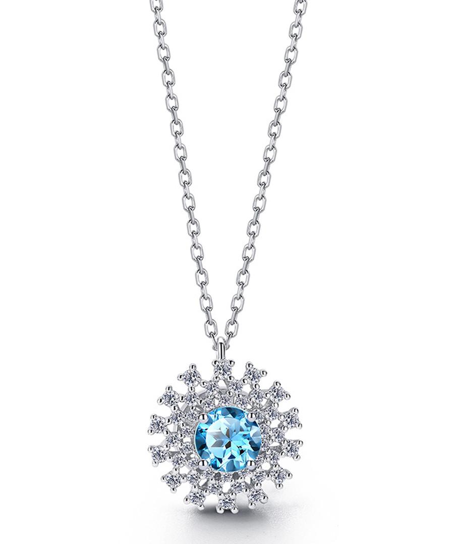 Discount Watery Love blue topaz necklace | SECRETSALES
