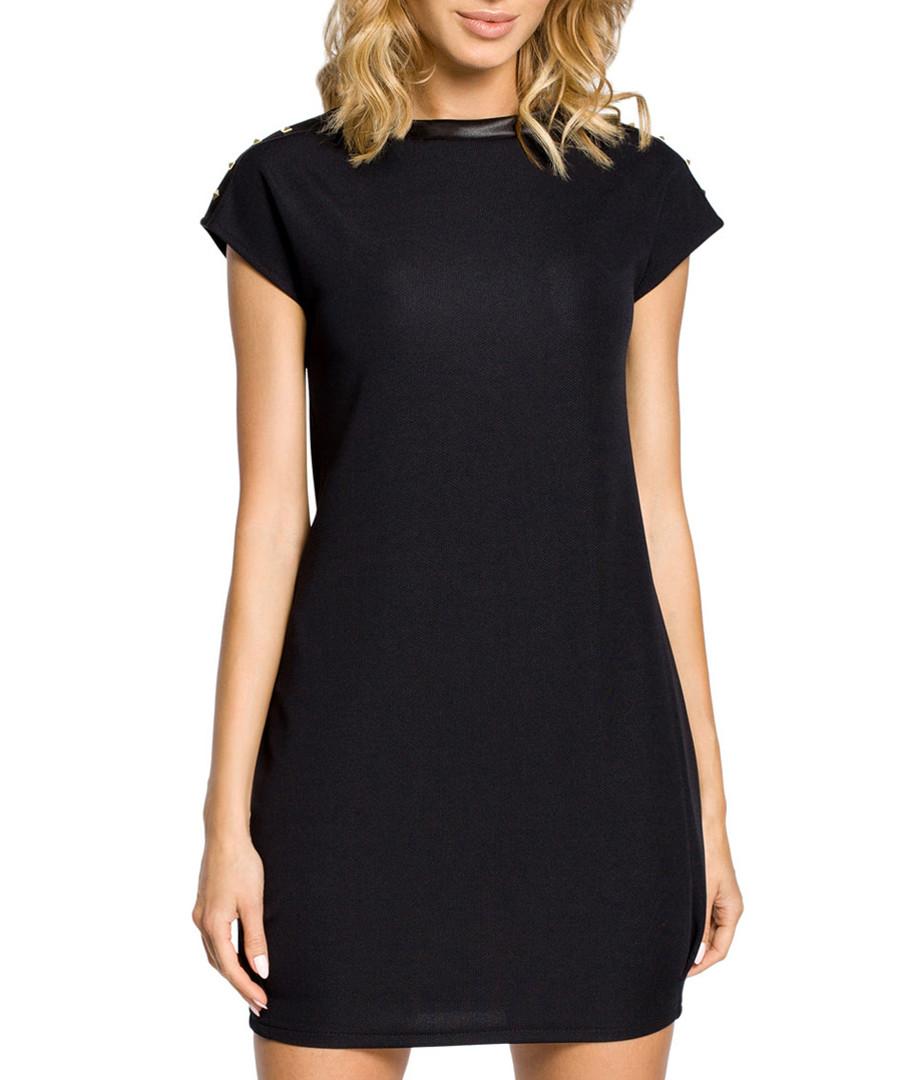 Black long sleeve midi dress Sale - made of emotion