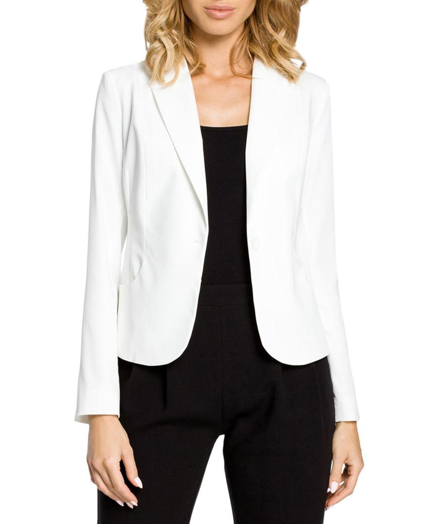 Ecru long sleeve jacket  Sale - made of emotion