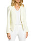 Pale yellow long sleeve pointed jacket  Sale - made of emotion Sale