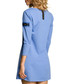 Blue cotton heart pocket dress Sale - made of emotion Sale