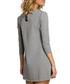 Grey cotton heart pocket dress Sale - made of emotion Sale