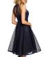 Navy blue sleeveless midi dress Sale - made of emotion Sale