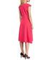 Pink kick-pleat midi dress Sale - made of emotion Sale