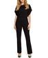 Black short sleeve jumpsuit Sale - made of emotion Sale