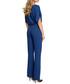 Blue short sleeve jumpsuit Sale - made of emotion Sale