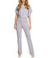 Grey short sleeve jumpsuit Sale - made of emotion Sale