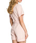 Powder pink tie-waist playsuit Sale - made of emotion Sale