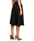 Black flowy high-waist midi skirt Sale - made of emotion Sale