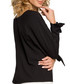 Black tie wrist long sleeve blouse Sale - made of emotion Sale