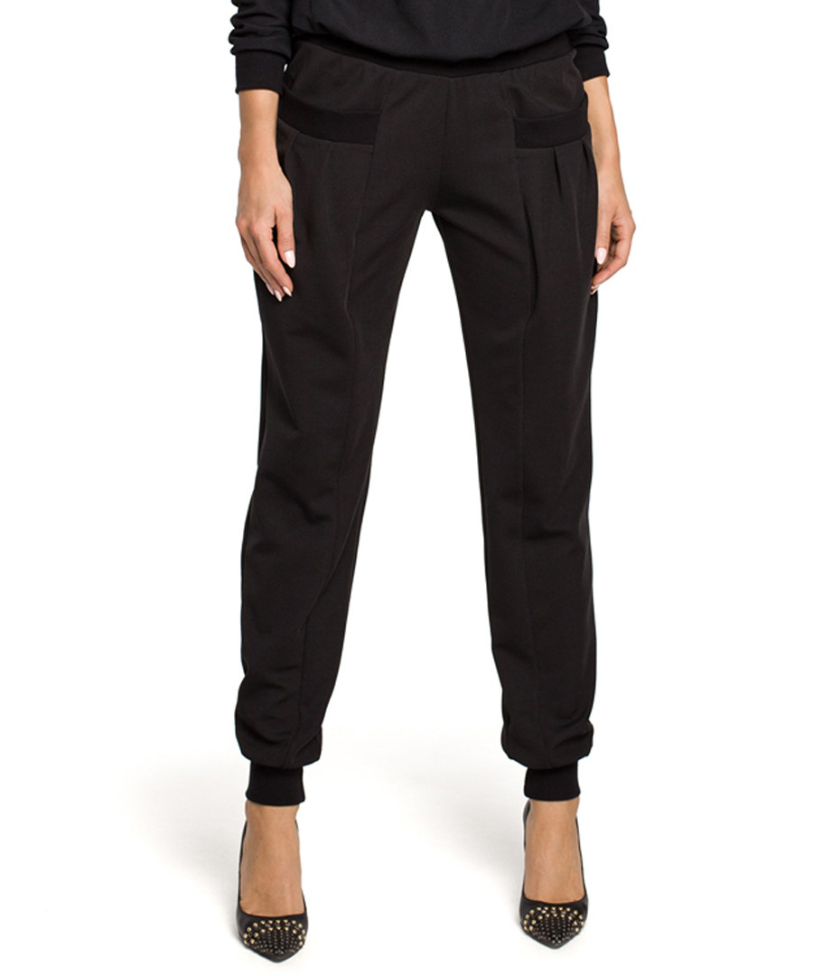 Black pocket trousers Sale - made of emotion