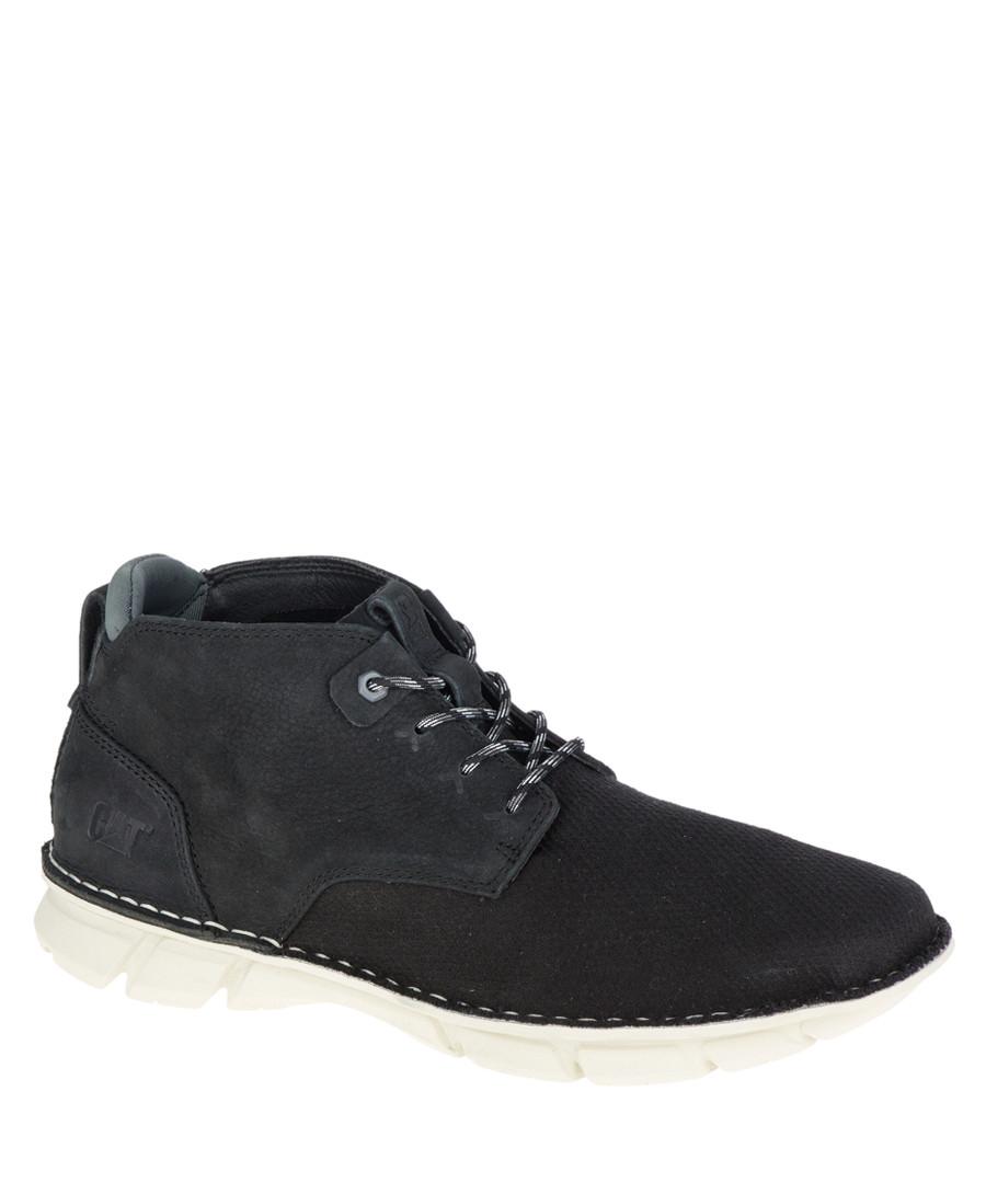 Men's Almanac black mesh ankle boots Sale - Caterpillar