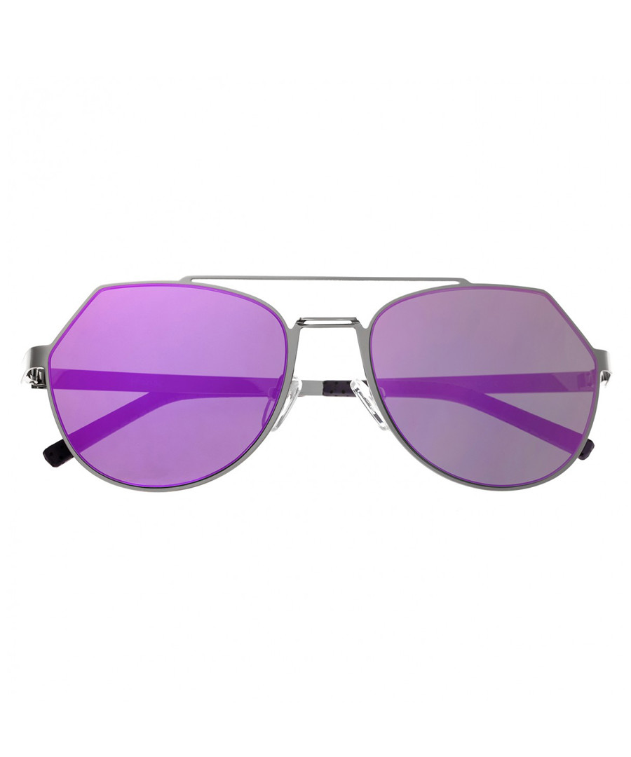Hadley purple mirror edge sunglasses Sale - bertha