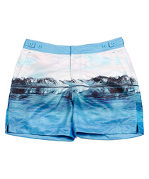 George pink iceberg and blue artic trunks