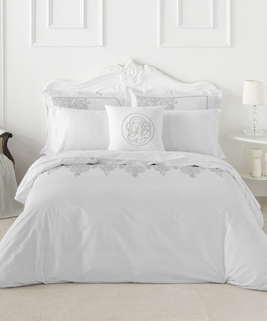 Nordicos grey cotton single duvet set Sale - pure elegance