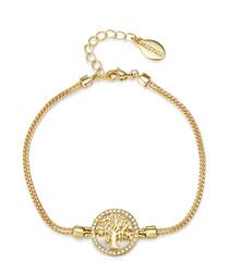 Maple Tree Of Life gold-tone bracelet