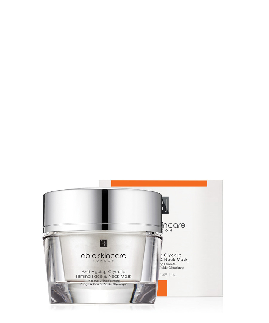 Glycolic Firming face & neck mask 50ml Sale - able skincare