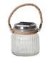 Jam Jar clear glass LED lantern Sale - solar lighting Sale