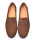 Men's Brown suede loafers Sale - moka saint Sale